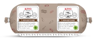 5 Diersoorten Mix compleet Kilo